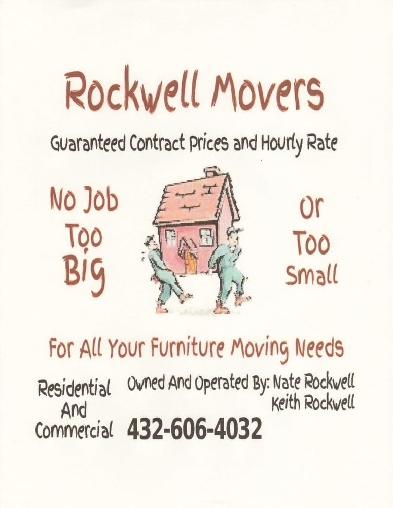 Rockwell Movers: 900 West 5th St, Big Spring, TX