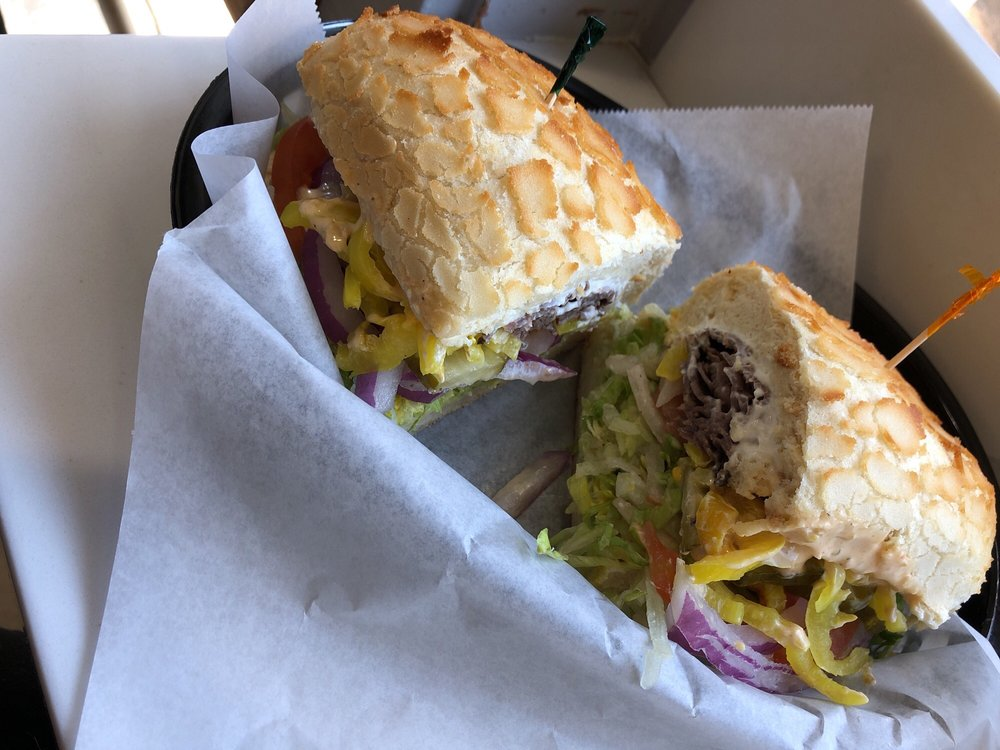 Food from The Sandwich Spot