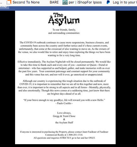 The Asylum: 6153 Massachusetts Ave, New Port Richey, FL