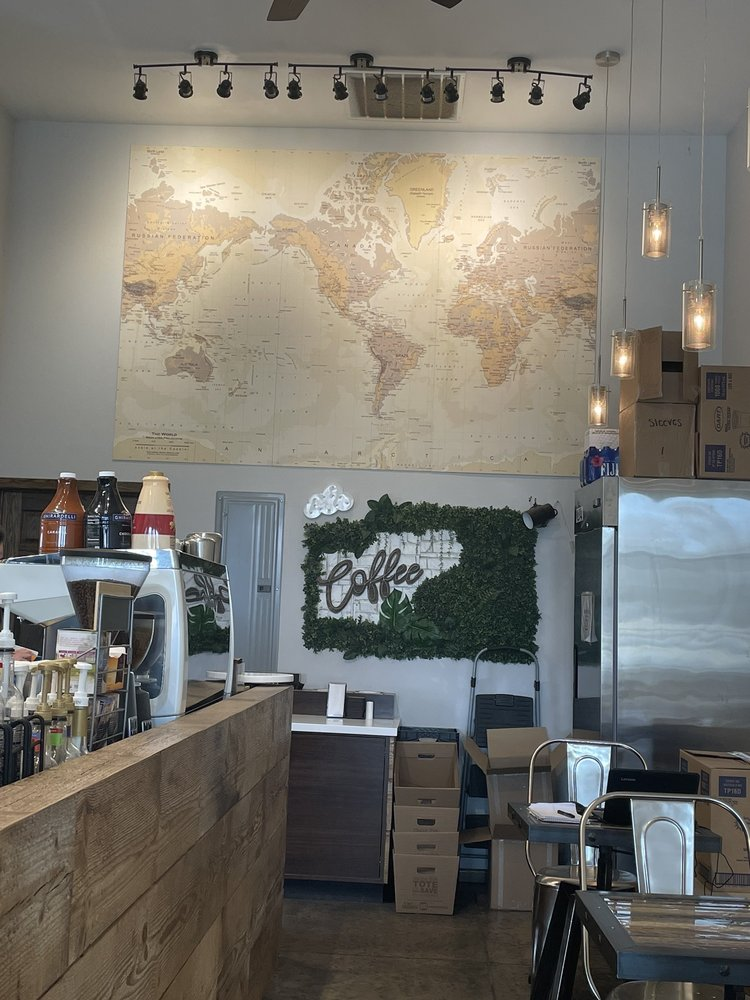 Plantation Coffee Bar: 113 Business Lp W, Jamestown, ND