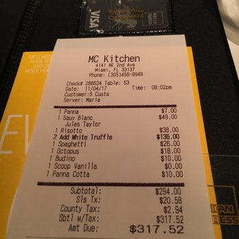 MC Kitchen - 382 Photos & 282 Reviews - Italian - 4141 NE 2nd Ave ...