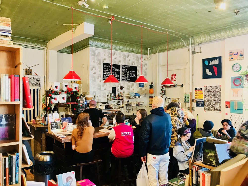 Topos Bookstore Cafe Ridgewood Ny