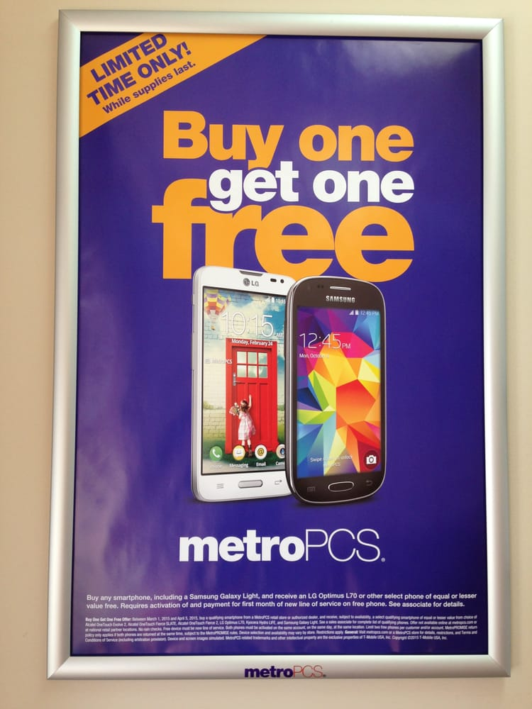 Buy one get one FREE (selected phones only)! - Yelp