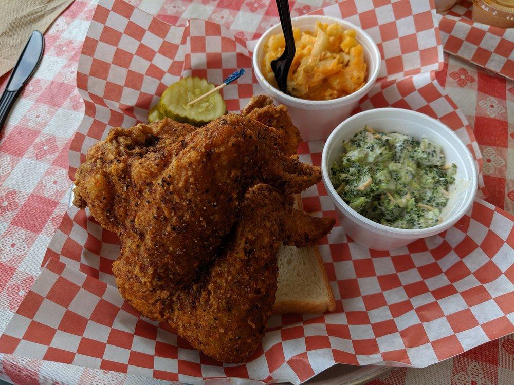 Wang's Hot Chicken: 311 Broadway St, Aurora, IN