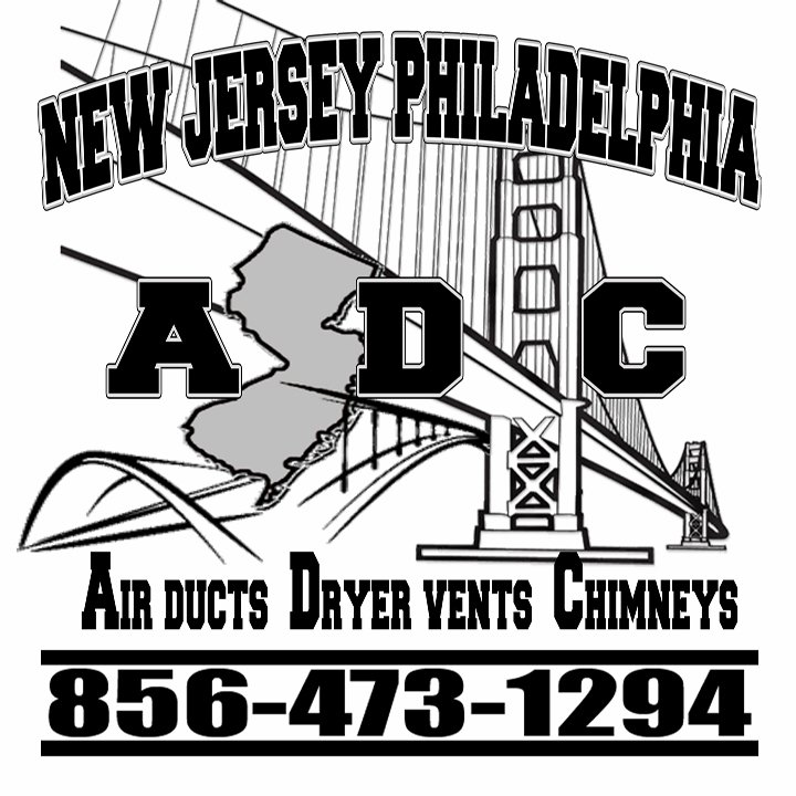 New Jersey Philadelphia Air Ducts Dryer Vents Chimneys ADC: Blackwood, NJ