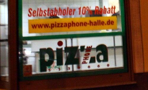 pizza phone pizzerie seebener str 197 halle saale sachsen anhalt germania ristorante. Black Bedroom Furniture Sets. Home Design Ideas