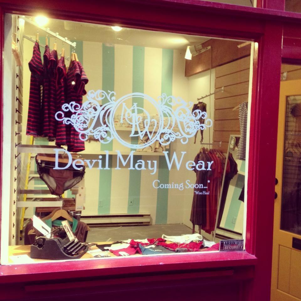 Devil May Wear: 3 Fan Tan Alley, Victoria, BC