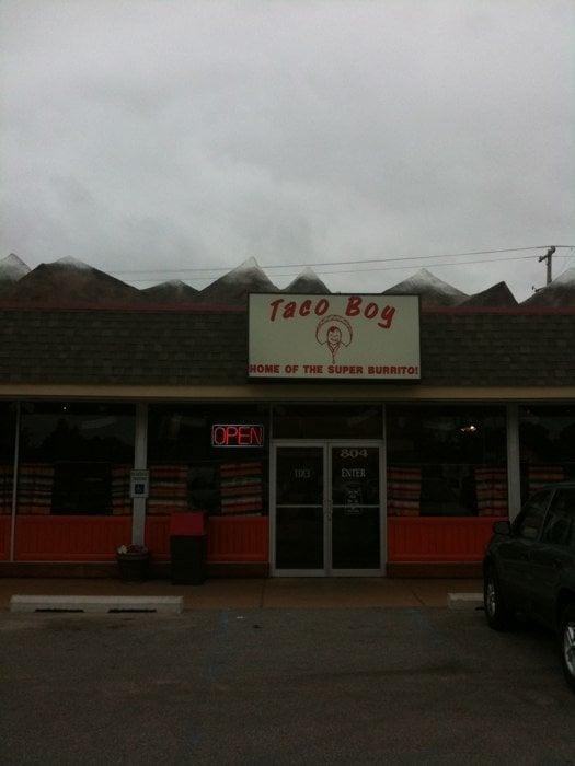 Food from Taco Boy Restaurant