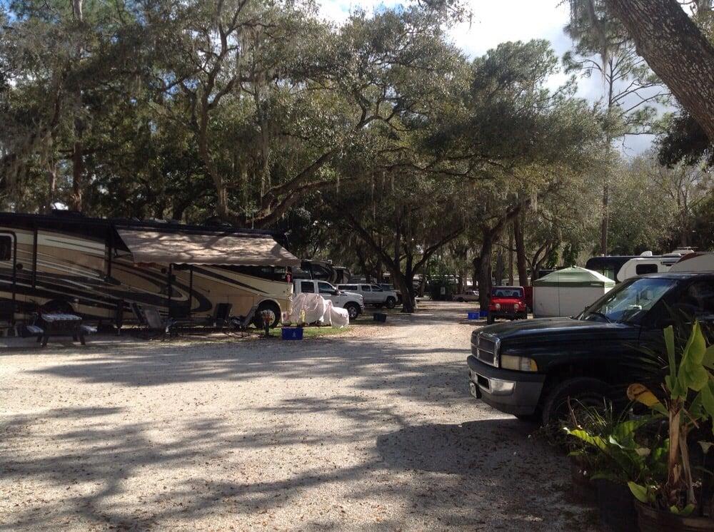 Seminole Campground: 8991 Triplett Rd, N Ft Myers, FL