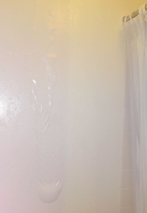 Upstairs 39 Toilet Water Leaking Into Our Bathroom Think This Is Suitable Living Conditions Yelp