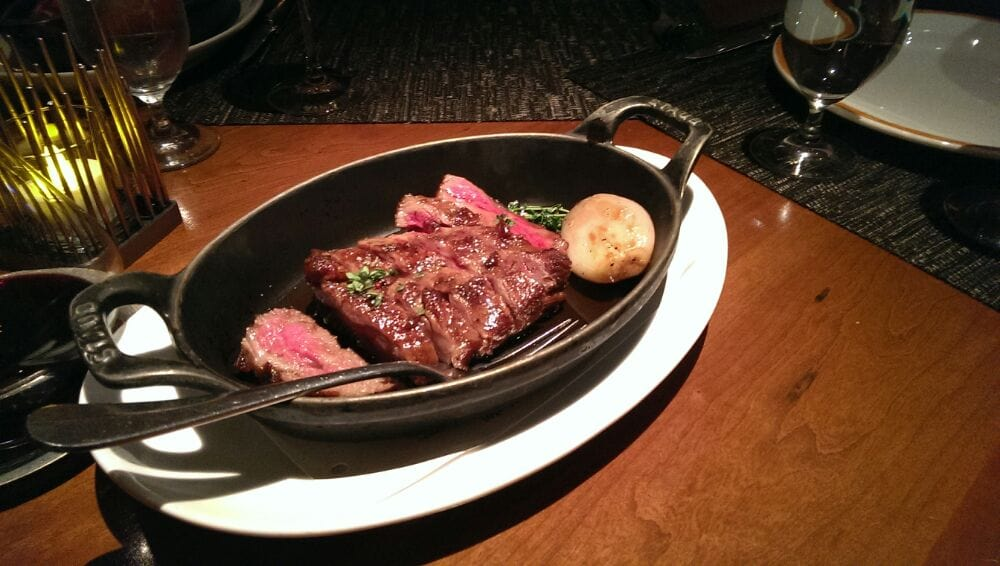 A5 rib cap nam nam nam worth every pic taken w for Craft steakhouse las vegas