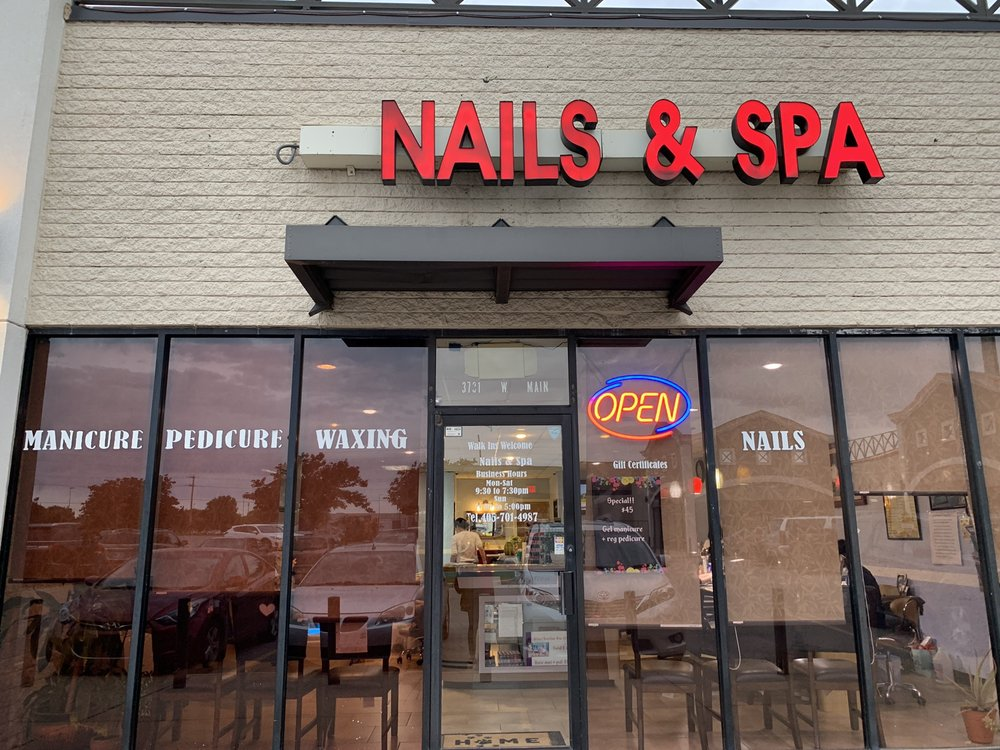 V Nails & Spa: 3731 W Main St, Norman, OK