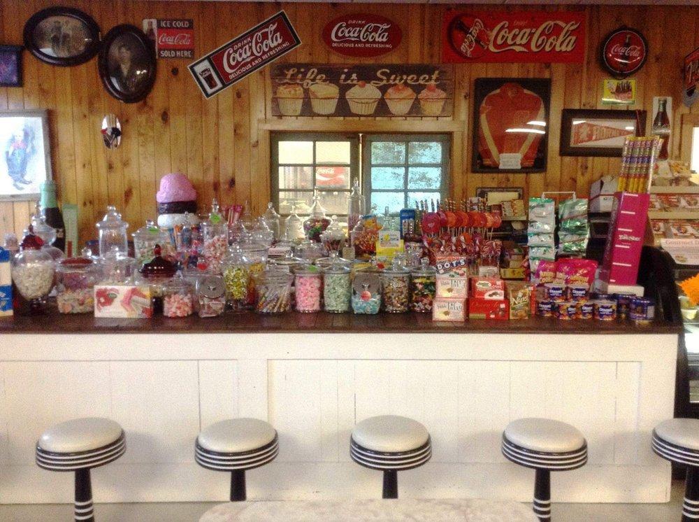 Gokey's Old Town Emporium & Creamery: 1106 State Highway Loop 393, Goodrich, TX