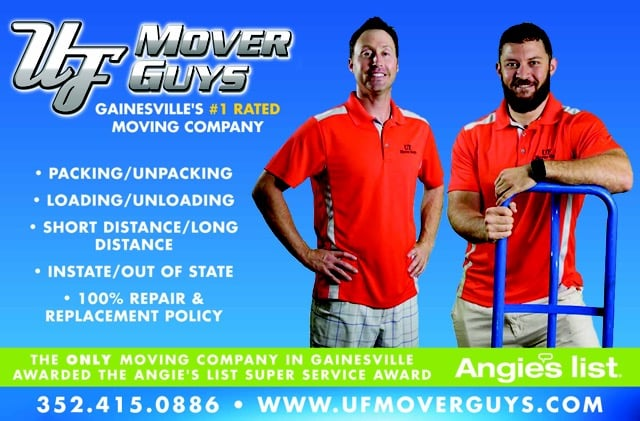 Uf Mover Guys: 2331 NW 13th St, Gainesville, FL