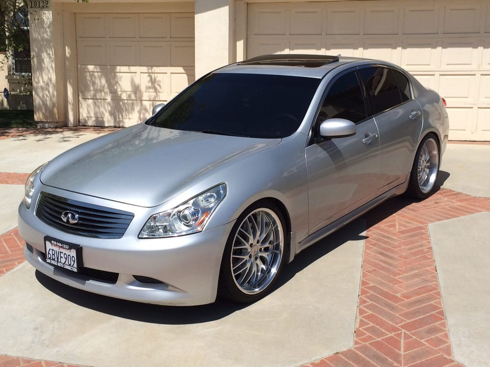 2008 infiniti g35s limo tint on all windows including. Black Bedroom Furniture Sets. Home Design Ideas