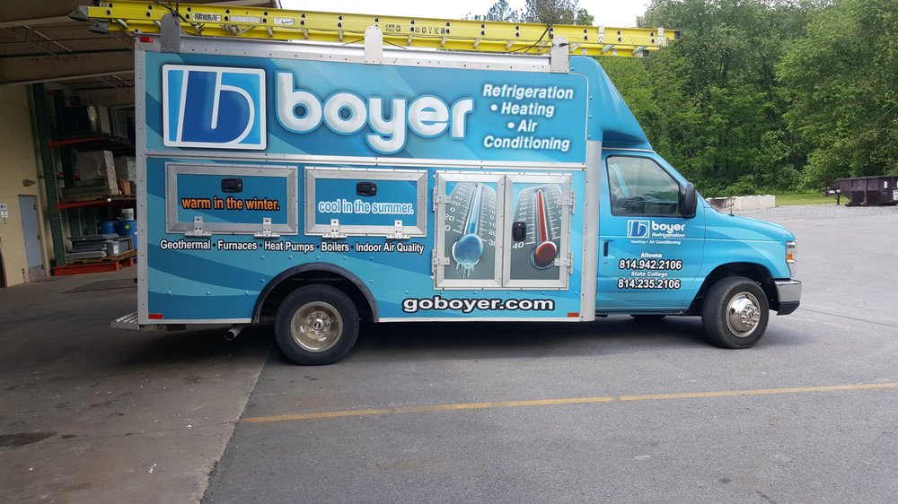 Boyer Refrigeration Heating & Air Conditioning: 108 Staidum Dr, Bellwood, PA