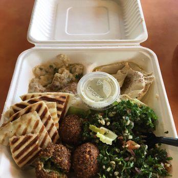 Photo Of Jasmin Mediterranean Bistro Chapel Hill Nc United States Veggie Platter