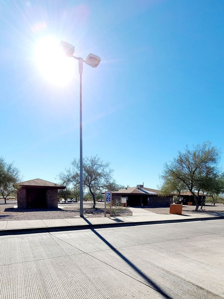 Bouse Wash Rest Area: Interstate 10, Salome, AZ
