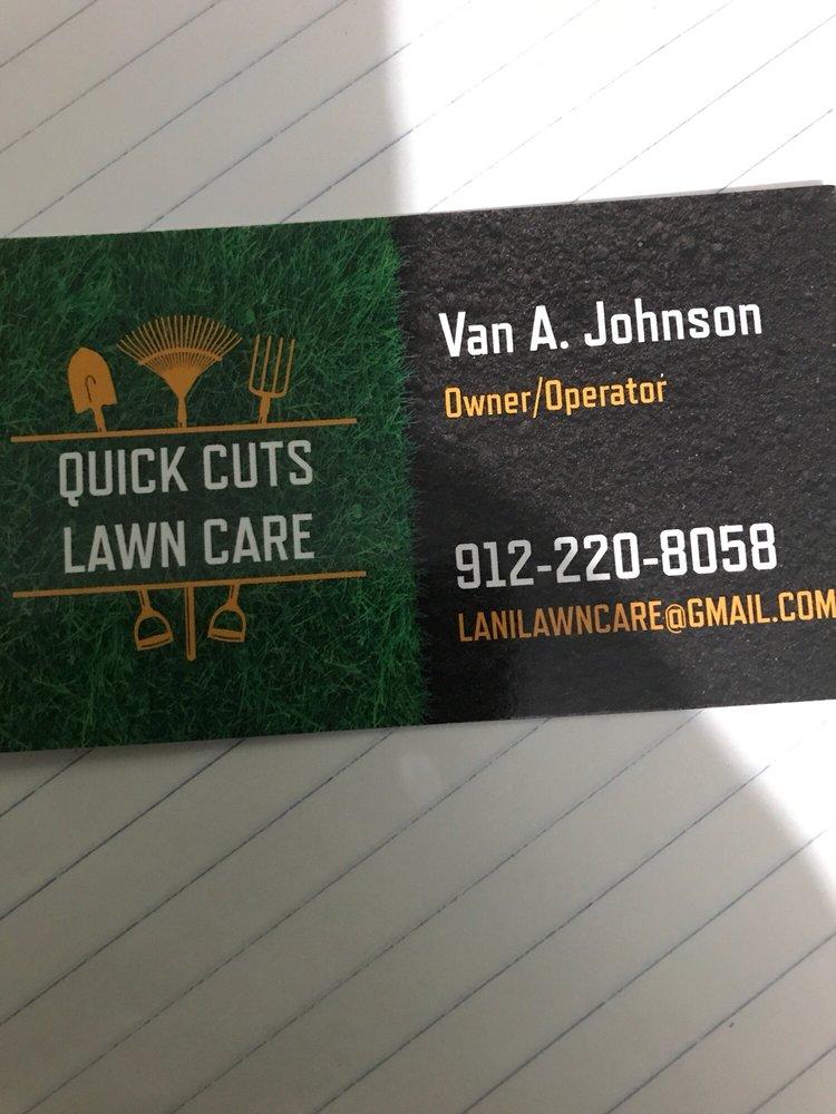Quick Cuts Lawn Care: Savannah, GA
