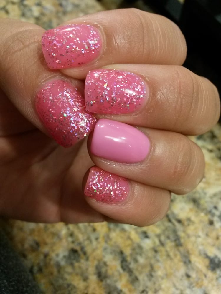 Photo Of Helen S Nails And Spa Sacramento Ca United States Birthday Gel