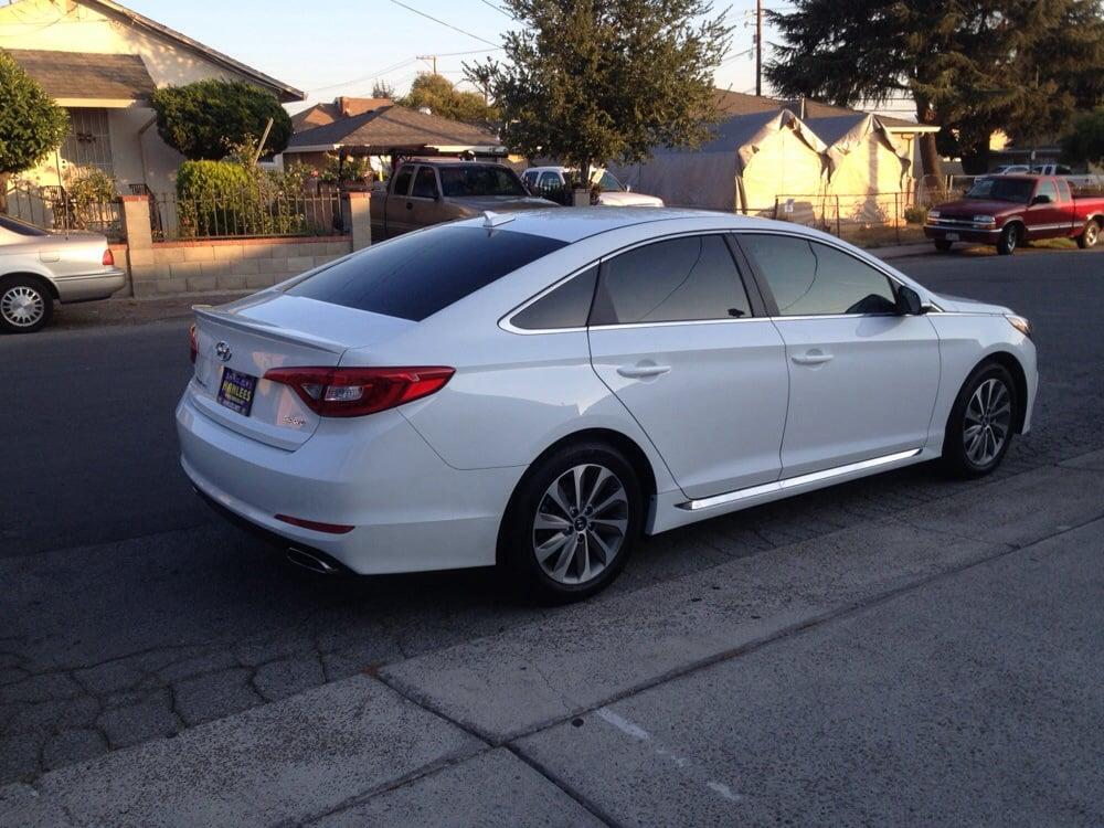 2015 Hyundai Sonata Sport Front 35 Back 3 Windows 5