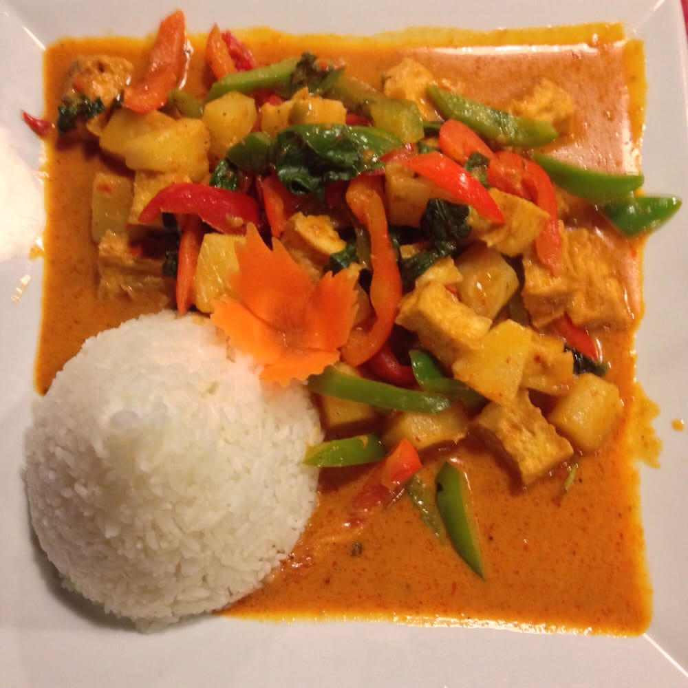 ... Thai Thip Restaurant - Hurst, TX, United States. Pineapple curry tofu