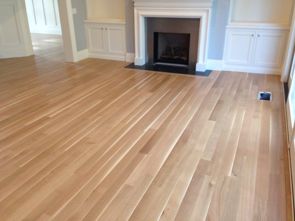 White Oak Finish ~ White oak floor with water based finish yelp
