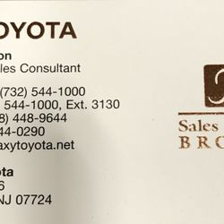 Photo Of Galaxy Toyota   Eatontown, NJ, United States. Dealing With Laura  Patton