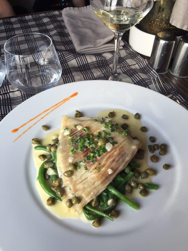 Aile de raie aux c pres yelp for Restaurant le garage deauville