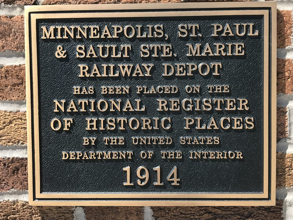 Soo Line RR Depot and Steam Locomotive: 405 3rd St E, Thief River Falls, MN