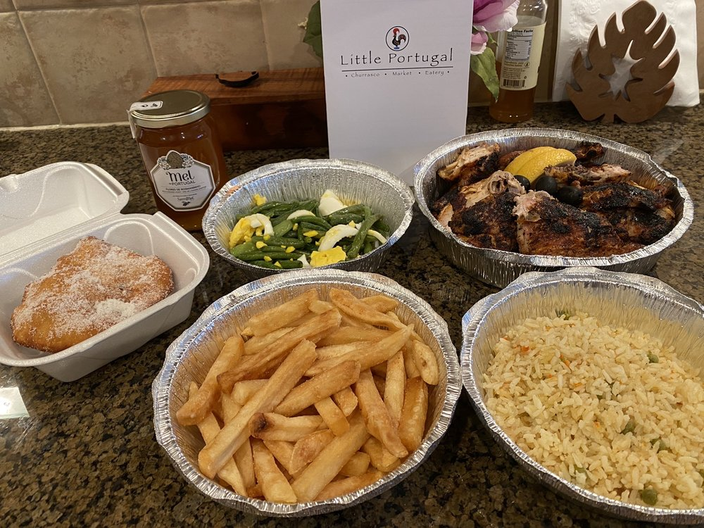 Food from Little Portugal