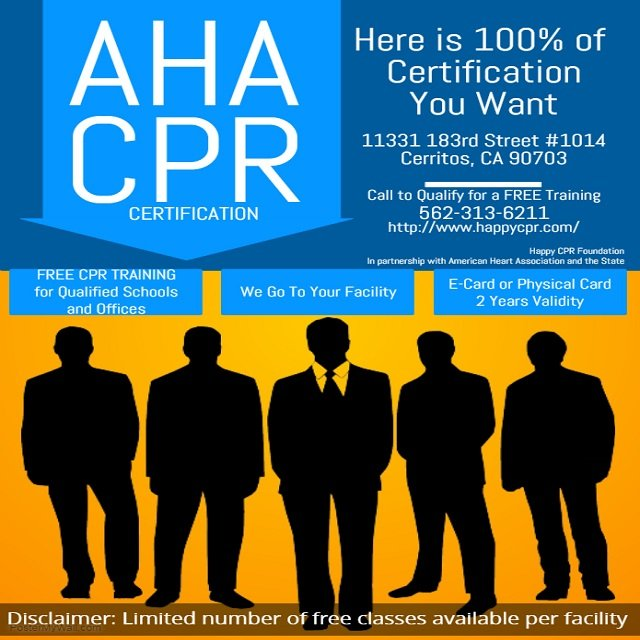 Happy Cpr Foundation Cpr Classes 2430 E Pacific Coast Hwy Long