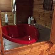 Photo Of Outrageous Cabins   Sevierville, TN, United States. Animal House  Loft Bathroom