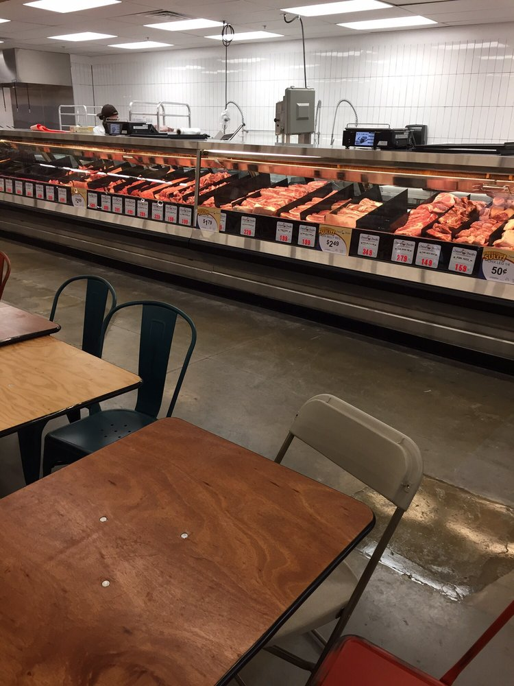 Meat counter yelp for Pacific fish market