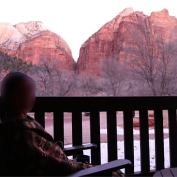 Photo Of Zion Lodge Springdale Ut United States View From Our Room