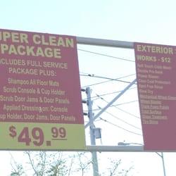 Topaz Car Wash Prices
