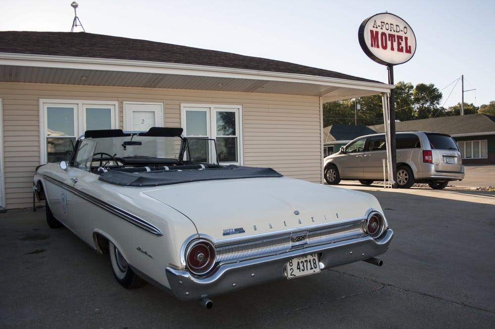 A-Ford-O Motel: 610 W 7th St, Atlantic, IA