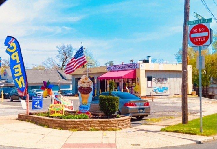 Ice Cream Shoppe: 700 Philadelphia Pike, Wilmington, DE