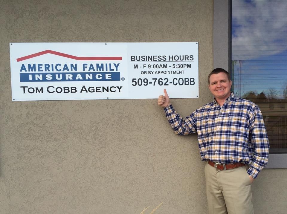 American Family Insurance-Thomas Cobb | 1022 S Pioneer Way, Moses Lake, WA, 98837 | +1 (509) 762-2622