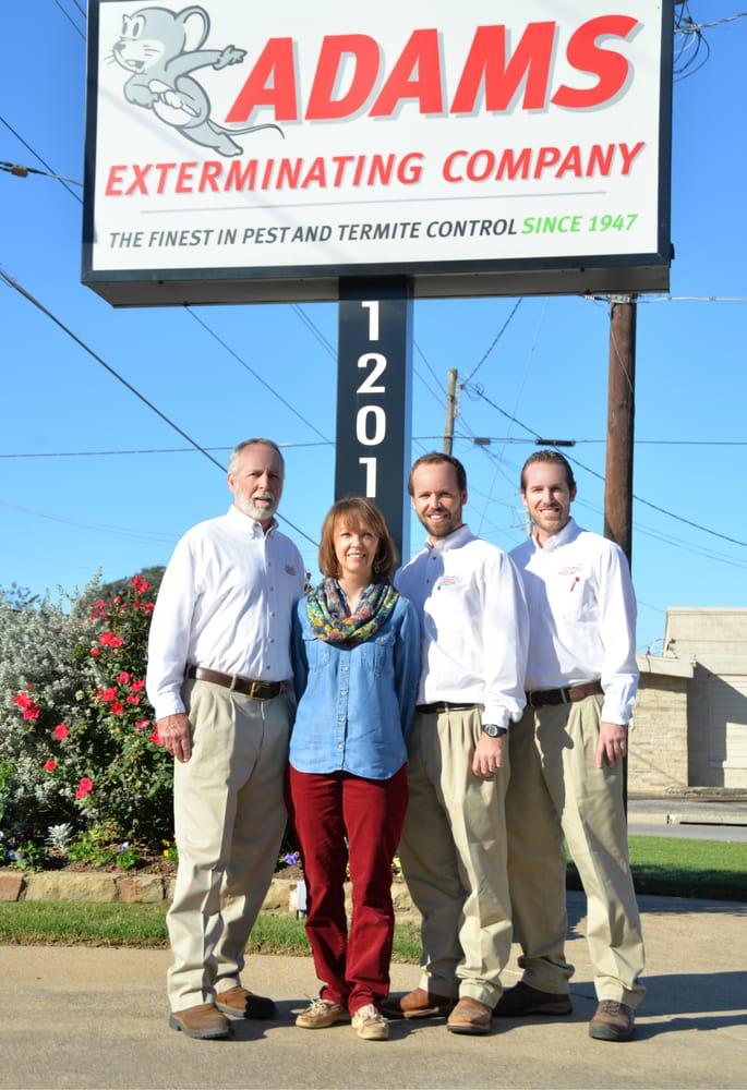 Adams Exterminating Company: 1201 E McKinney St, Denton, TX