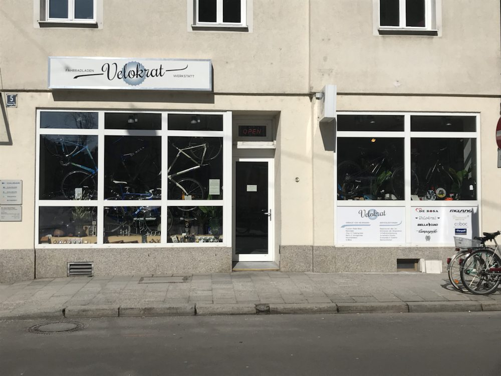 Velokrat - Fahrradwerkstatt - Reisingerstr. 5, Ludwigsvorstadt ...