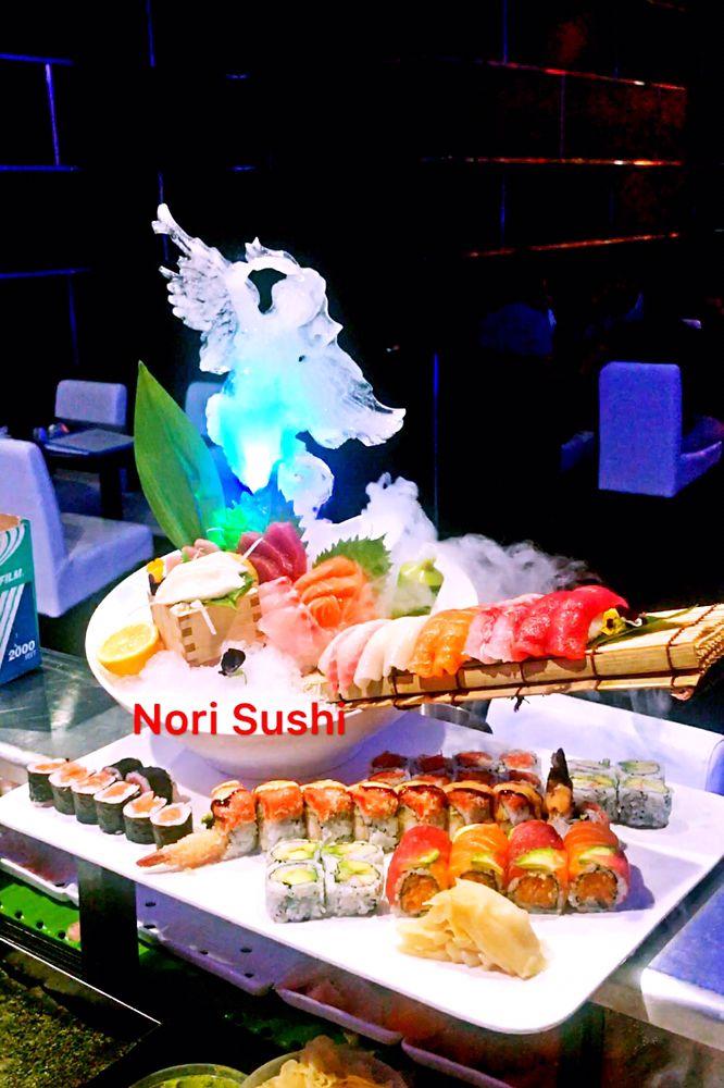 how to prepare nori for sushi