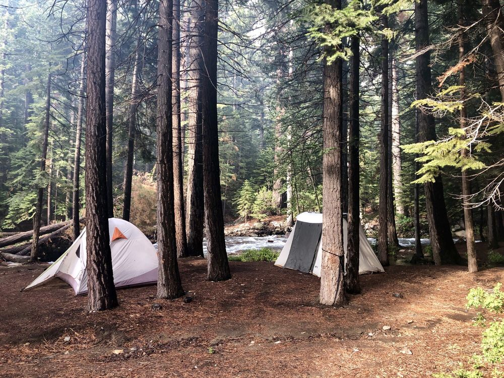 Aspen campground: Poole Power Plant Rd, Lee Vining, CA