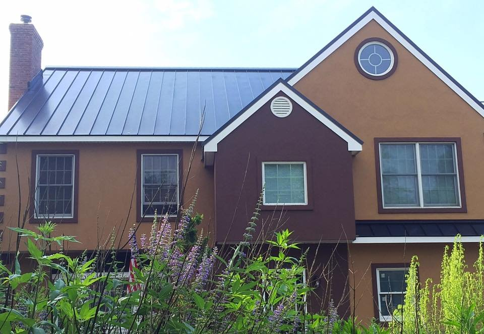 Drexel metal standing seam roof and stucco yelp for American remodeling