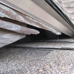 Photo Of AJC Roofing   Nashua, NH, United States. Area Left Uncovered After