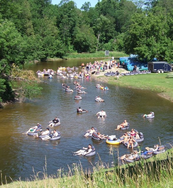 Tubing Down the Rifle RIver is fun with friends  - Yelp