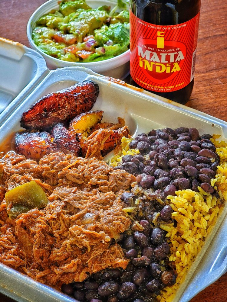 Food from Caribe Blue Restaurant