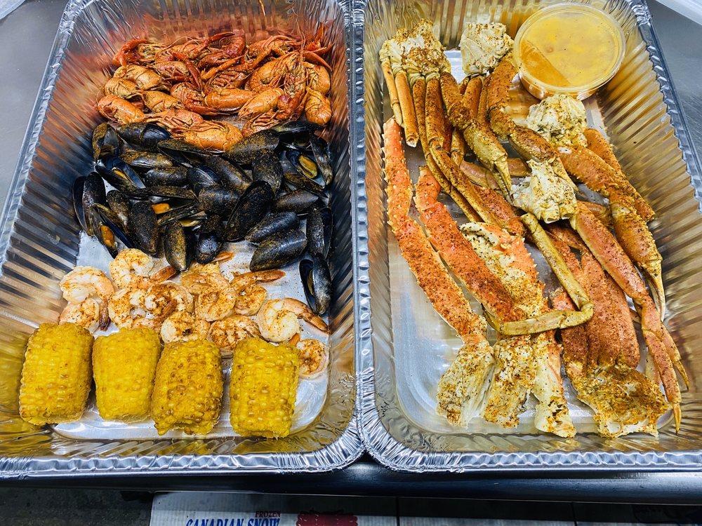 Great Canadian Fish & Seafood: 7601 E 7 Mile Rd, Detroit, MI