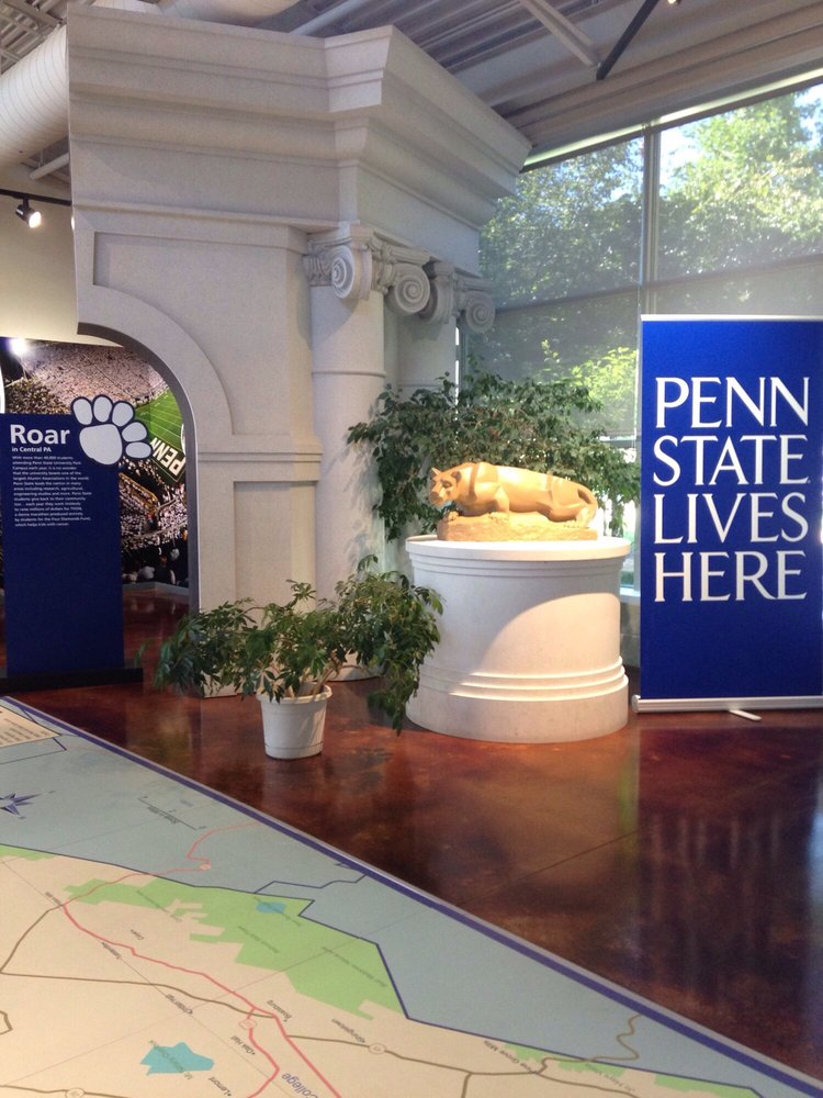 Central PA Convention and Visitors Bureau: 800 E Park Ave, State College, PA