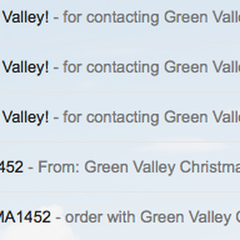 photo of green valley christmas trees mountain view ca united states every